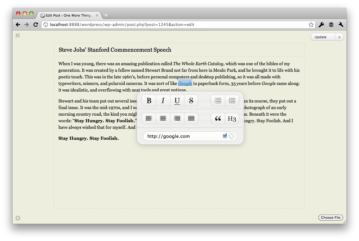 WordPress | Artsy Editor - WordPress WYSIWYG Editor Plugin