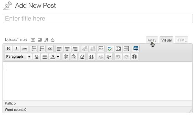 Getting Started with Artsy Editor | Artsy Editor - WordPress WYSIWYG